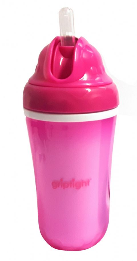 Griptight - Insulated Straw Bottle - Pink